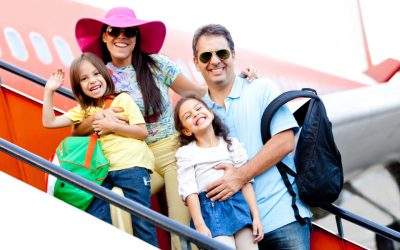 Family flying
